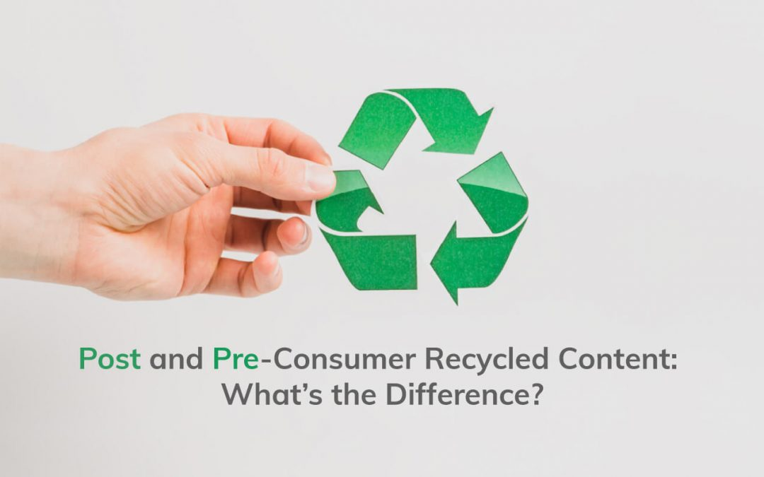 Post and Pre-Consumer Recycled Content:  What's the Difference?