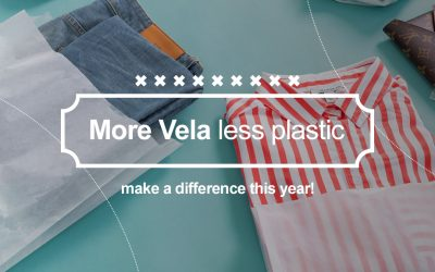 Be the positive environmental change you want to see by using Vela bags